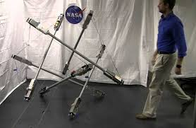 NASA zbulon Superball Bot