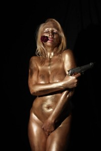 warning-nudity-russian-pop-star-nadeea-volianova-is-the-golden-james-bond-girl-from-1965s-goldfinger-in-honor-of