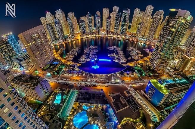 Imazhe të mahnitshme nga çatitë e Dubait
