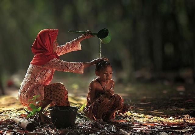 Jeta mbresëlënëse në fshatrat e Indonezisë