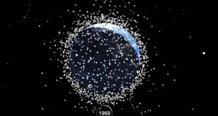 Mbetjet që janë mbledhur në orbitën e tokës