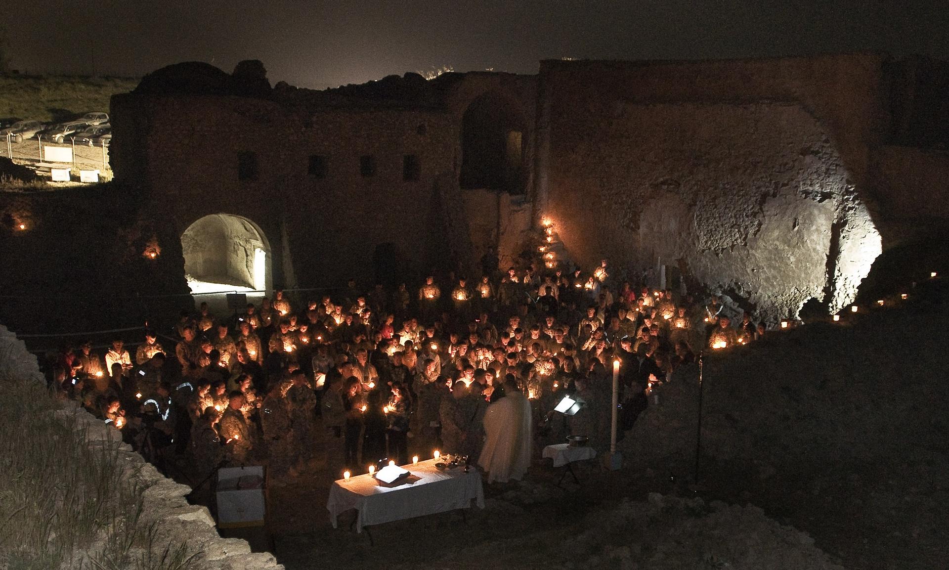ISIS-i shkatërron manastirin