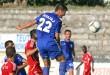 Ndeshja e futbollit, Teuta-Bylis i Ballshit, 2-1, e vlefshme per Kampionatin Kombetar, e luajtur ne stadiumin e Kavajes.