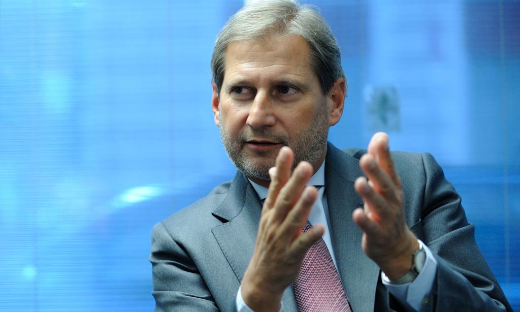 Hahn viziton Shqipërinë, takime me krerët më të lartë të shtetit
