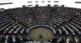 The European Parliament is pictured Wednesday April 16, 2014 in Strasbourg, eastern France.  The European  general elections in the 27 countries of the E.U will take place from May 22 to 25, 2014. (AP Photo/Christian Lutz)