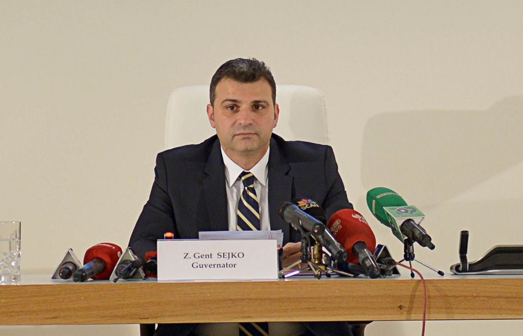 Guvernatori i Bankës, Gent Sejko, vlerësime pozitive per rritjen e ekonomisë shqiptare