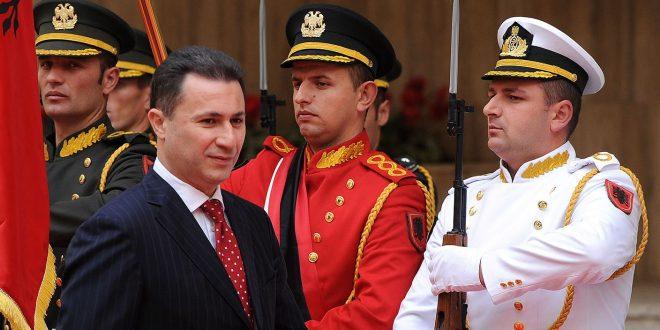 Gruevski  Soros ndërsen shqiptarët kundër maqedonasve