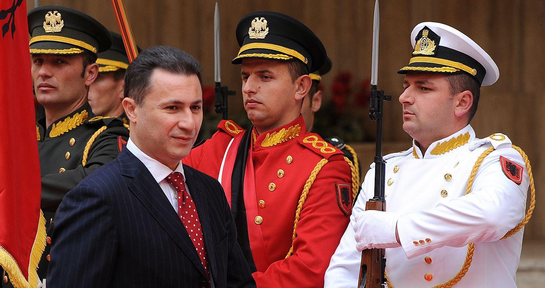 Gruevski: Soros ndërsen shqiptarët kundër maqedonasve