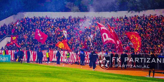 Padrejtësia e Bashkisë së Tiranës me tifozat e Partizanit