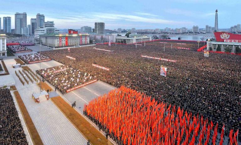FOTOLAJM / Festimet e Vitit te Ri në Korenë e Veriut