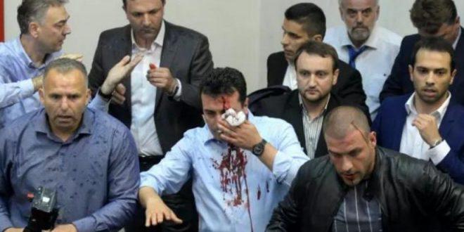 Organizatori i kriminelëve që masakruan deputetët  shëtit lirshëm nëpër Maqedoni