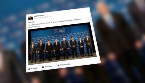 Pse mungoi Rama në foton zyrtare me Pence?