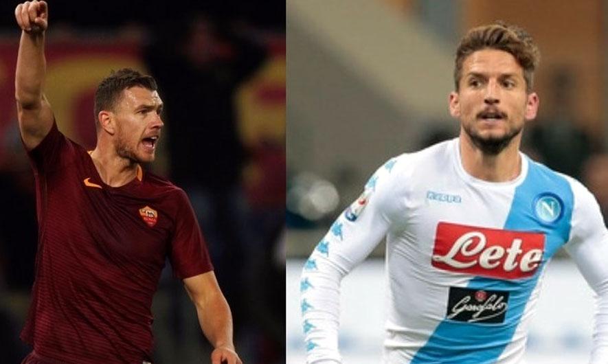 Roma-Napoli ose Dzeko kundër Mertens