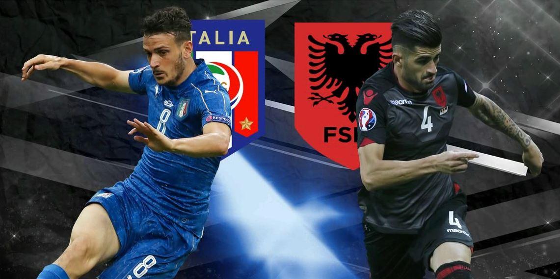 """LIVE / Ndeshja Shqipëri – Itali në stadiumin """"Loro Boriçi"""""""