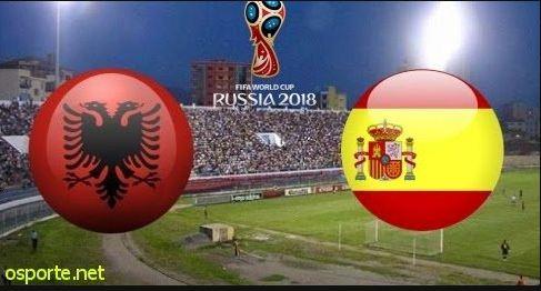 Spanja turpëron Shqipërinë, 3-0