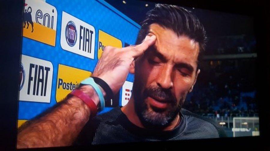 Italia eliminohet nga Botërori, Buffon në depresion/ Pamje të dhimbshme