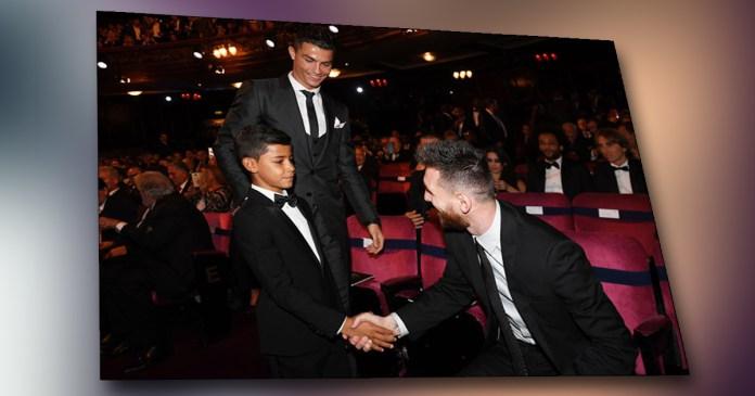 Djali i Ronaldos hap Instagram, me postimin e parë lë pa fjalë Lionel Messin /Foto