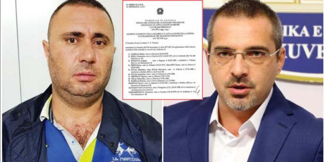 Skenari  Tahiri drejt ekstradimit në Itali