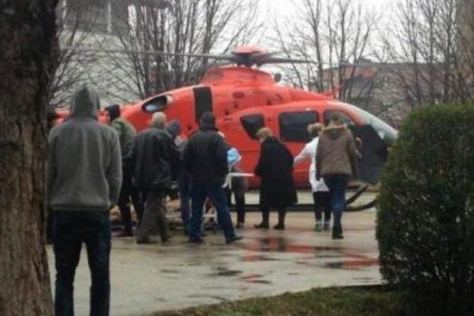 U rrëzua nga tribuna e stadiumit, vëllai i Tefik Osmanit niset me helikopter drejt Tiranës