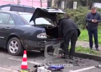 Tritol gjatë natës në Shkodër, shkatërrohet 'Mercedesi' /Video