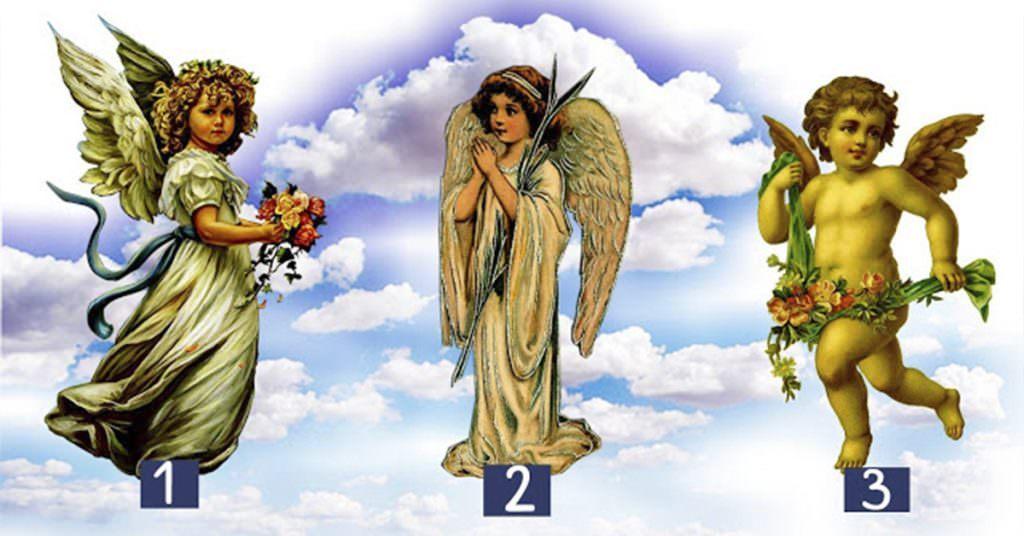 Zgjidh një engjëll dhe zbulo se çfarë do të të ndodhë nesër