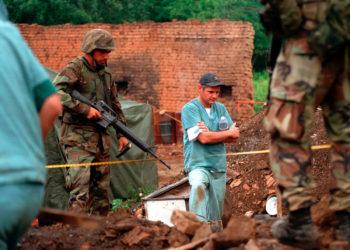 Mbetjet mortore të Gjakovës janë të serbëve të vrarë
