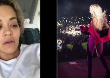 Rita Ora anulon koncertet, gjendja e saj shëndetësore nuk është e mirë
