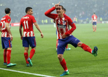 Griezmann fantastik, Atletico Madrid fiton Europa League