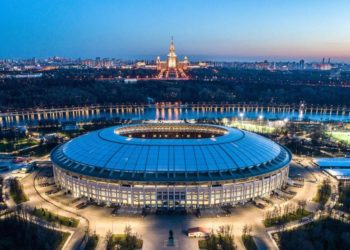 Nis sot në Rusi spektakli i futbollit