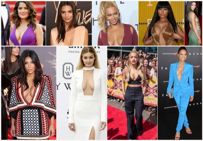 30 femra të famshme me gjoksin më të bukur në botë