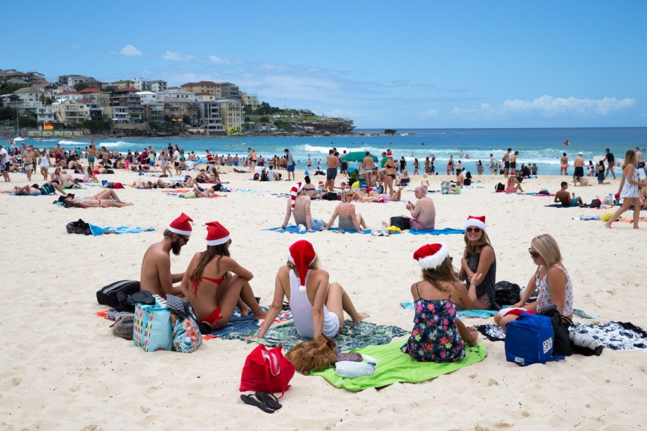 Australia feston Krishtlindjet