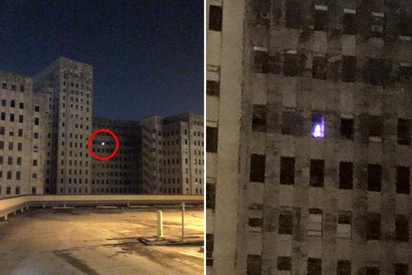 Misteri i bredhit ndriçues në spitalin e braktisur
