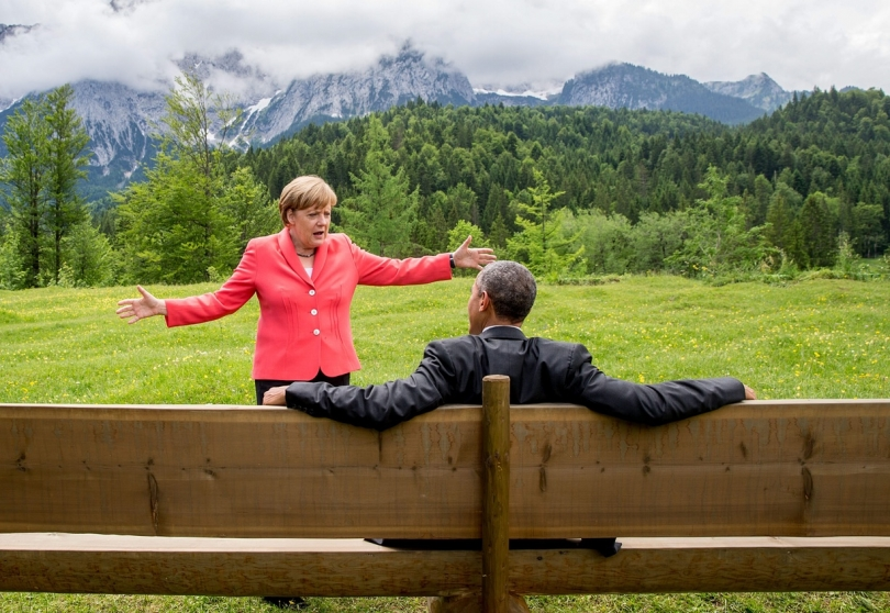 Merkel dhe Obama