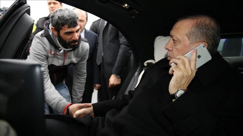 Presidenti Erdogan
