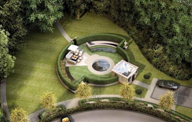 Shtëpi luksoze nën tokë (FOTO)