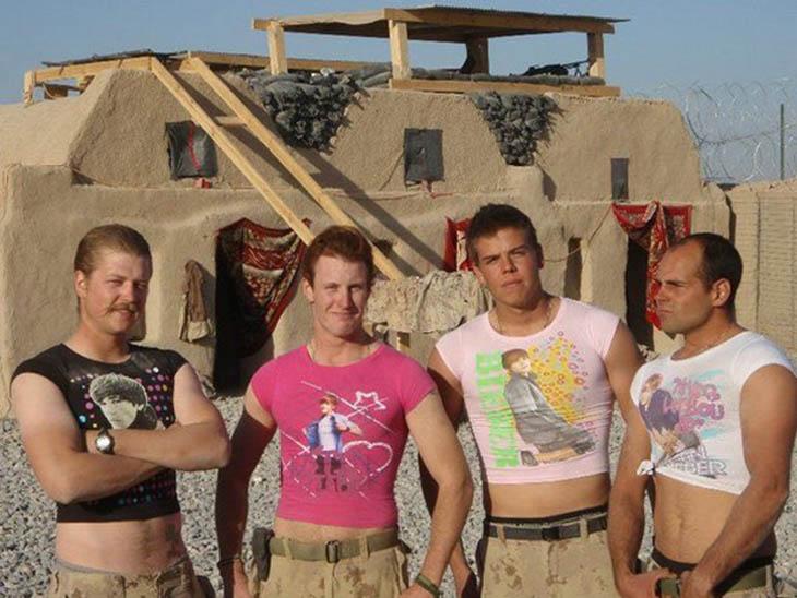 Ja si argëtohen ushtarët në kohën e lirë!