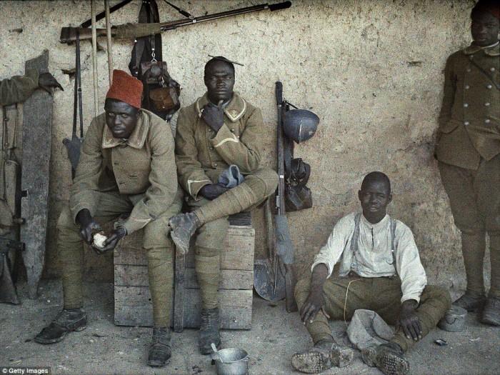 Lufta e Parë Botërore, fotot e rralla me ngjyra