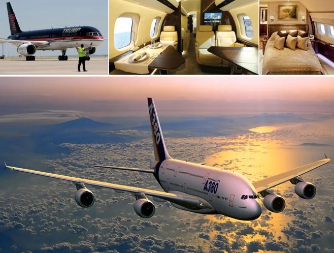 Avionët privatë më luksozë në botë (Galeri)