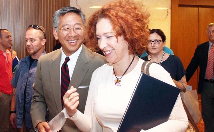 Lu dhe Vlahutin takim me ekspertët e Reformës në Drejtësi