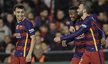 Barça në finale, fut në sherr Valencian me tifozët