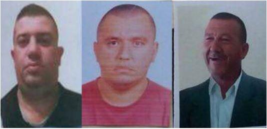 Fotot e tre viktimave të masakrës së Elbasanit