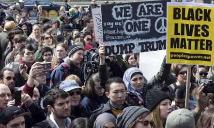 Protesta në Arizona
