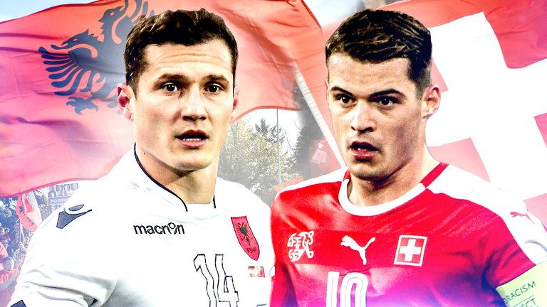 Shqipëri-Zvicër ose sfida mes vëllezërve kundërshtarë