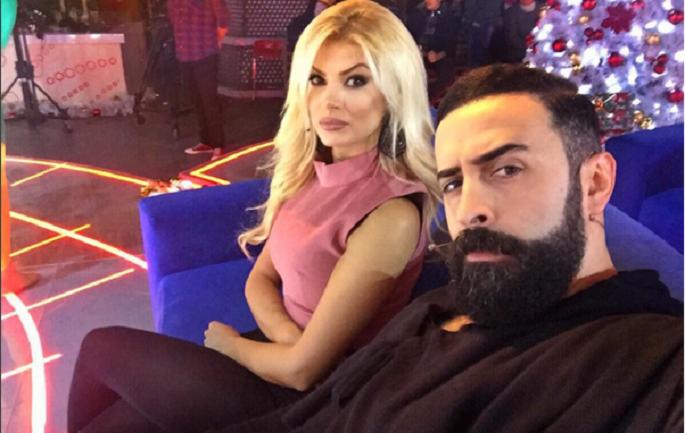 Getoari ka një mesazh erotik për të dashurën e tij Marina Vjollca (FOTOT)
