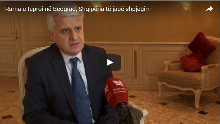 Rama e teproi në Beograd, Shqipëria të japë shpjegim