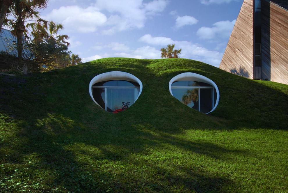 27 shtëpitë e mahnitshme nën tokë