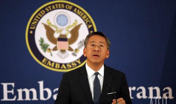 Vleresimi i Qeverise/ Ambasadori Donald Lu: Ministrat? Disa prej tyre i vleresoj me 10-te, disa me 0.