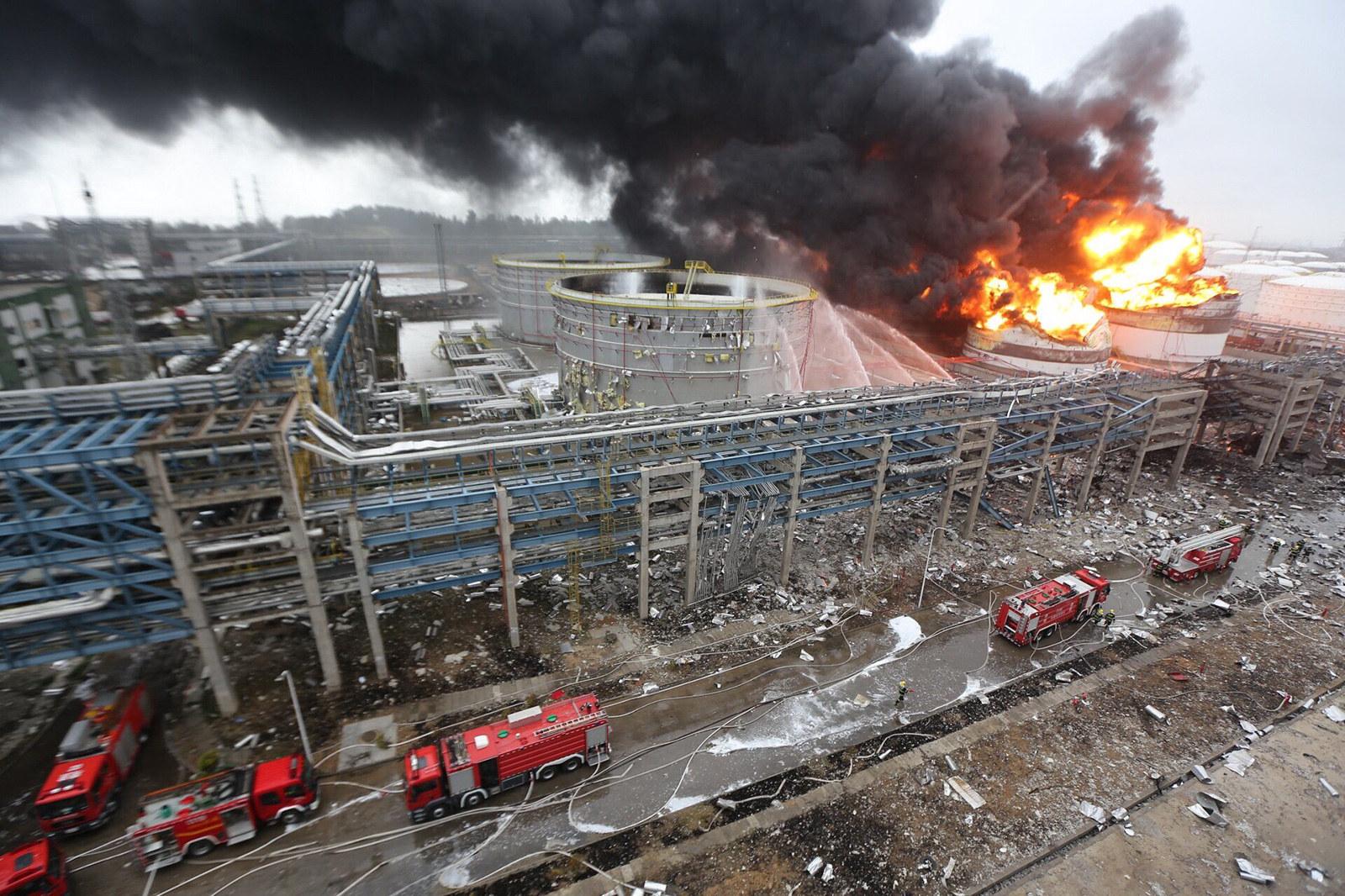 67 kinezë të vdekur pas aksidentit në një central elektrik