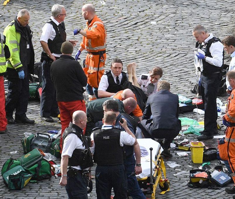 Një shqiptar gjendet në zonën e sulmit në Londër
