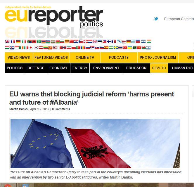Brukseli jehonë dorëheqjes së vëllait të Bashës: Iku për t'i shpëtuar Vetting-ut